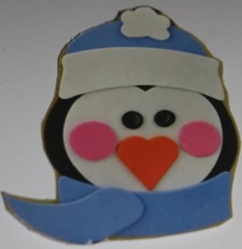 Penguin Face Template