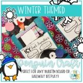 Penguin Fact Family Winter Bulletin Board Craftivity