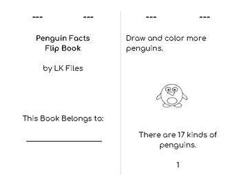 Penguin Fact Flip Book