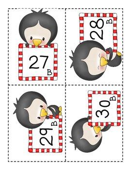 Penguin Factor Match - Grade 4