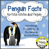Penguin Facts Activities ~ Non-fiction Fun!