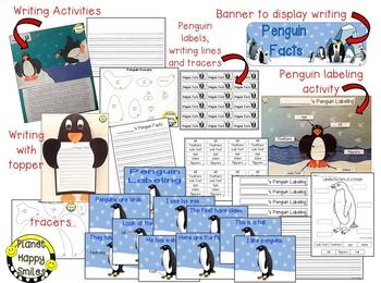 Penguin Facts Activities ~ Non-fiction Fun!