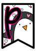 Penguin Facts Banner {Bunting, Garland, Pennant Display}