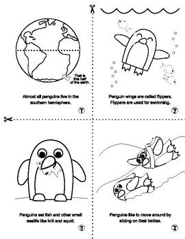 Penguin Facts Booklet FUN and ADORABLE!