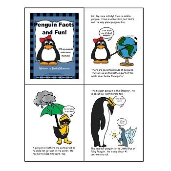 Penguin Facts and Fun: A READ TO LEARN Book About Penguins