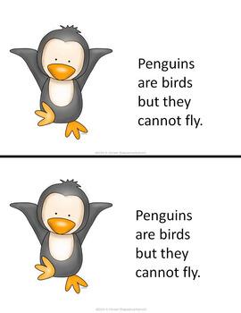 Penguins Printable Activities