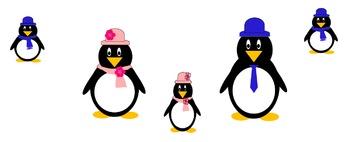Penguin Family Clip Art