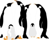 Penguin Family Freebie