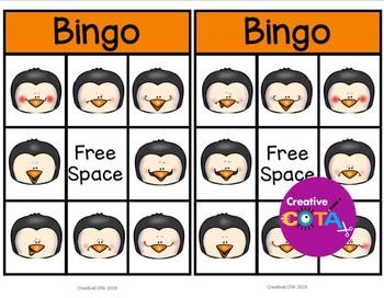 Penguin Feelings and Emotions Bingo
