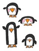 Penguin File Folder Game  Matching Sizes and Shapes