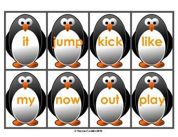 Penguin & Fish Sight Words