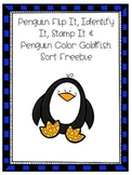 Penguin Flip It, Match It, Stamp It & Penguin Sorting Fish