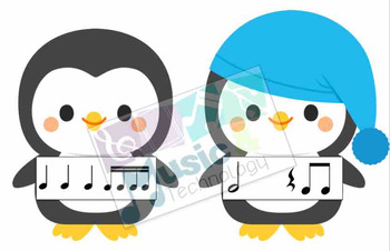 Penguin Rhythm Fly Swatter Card Game