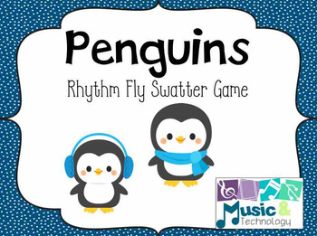 Penguin Rhythm Fly Swatter Card Game