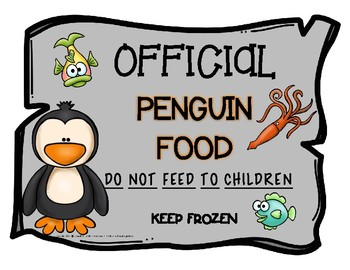 Penguin Food Label