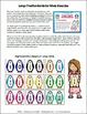Fractions - Penguin Fraction Activity Cards