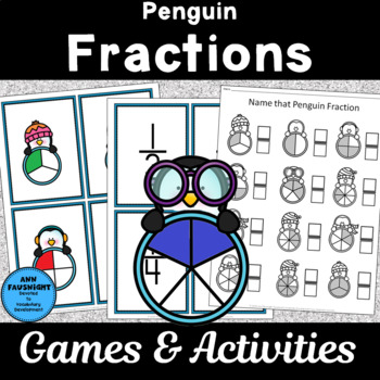 Penguin Fraction Games and Activities