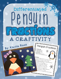 Penguin Fractions Craftivity