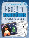 Penguin Fractions Craftivity