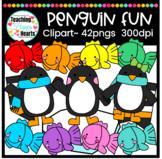 Penguin Fun Clipart