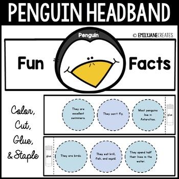 Penguin Fun Facts Headband