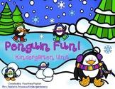Penguin Fun! Kindergarten Unit