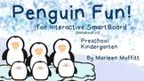 Penguin Fun Preschool and Kindergarten for Interactive SmartBoard (Notebook 11)