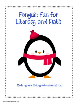 Penguin Fun for Literacy and Math Centers
