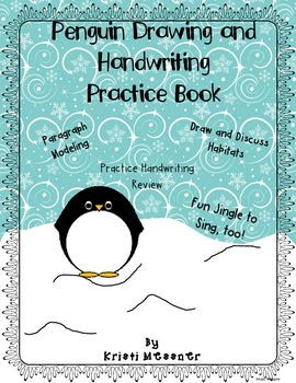 Penguin Handwriting and Drawing Book