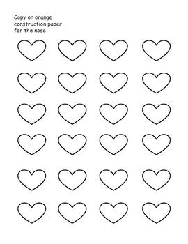Penguin Hearts Craft- Freebie!
