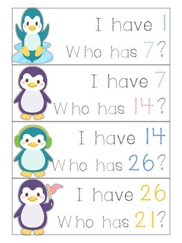 Penguin Number Identification Game