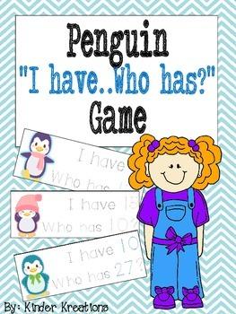 Penguin Number Identification Game