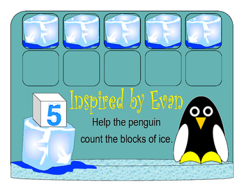 Penguin Ice Block Count for Autism