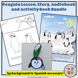Spanish Winter Penguin BIG Bundle: Story, Audiobook, Activ