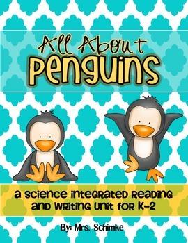 Penguin Informational Unit for K-2