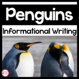 Penguin Close Reading, Informational Writing and Art Activity