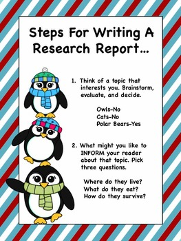 Penguin Informational Writing and Research Unit