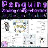 Penguin Interactive Notebook Reading Comprehension