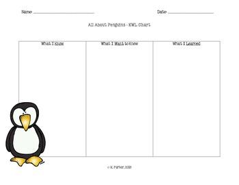 Penguin KWL Chart