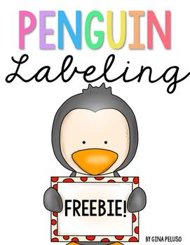 Penguin Labeling FREEBIE!
