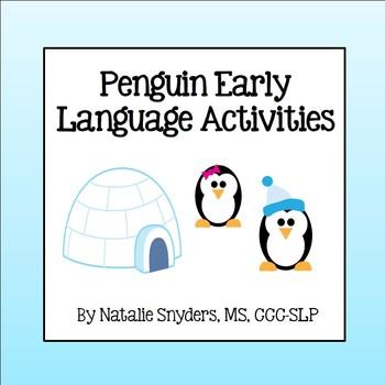 Penguin Language Games - Following Directions, Basic Concepts, & Pronouns