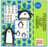 Penguin Large Clip Cards