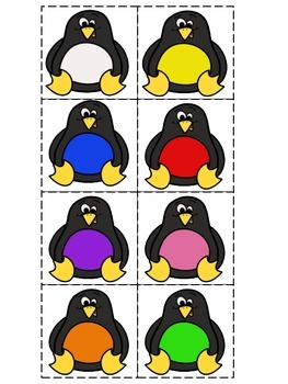 Penguin Letter Concentration