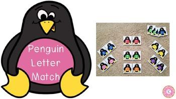 Penguin Letter Match