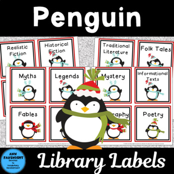Penguin Library Labels
