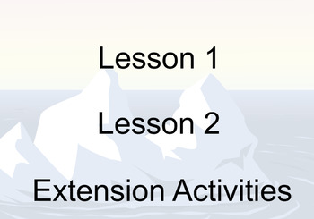 Penguin Life Cycle 2 lessons