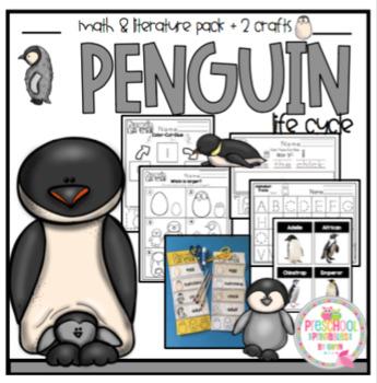 Penguin Life Cycle Printable