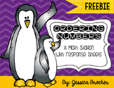 Ordering Numbers FREEBIE! {A Penguin Themed Math Station}