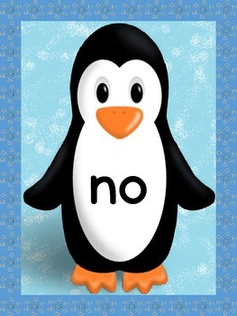 Penguin List 4 From  Fry First 100 Sight Word Posters and Flashcards