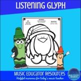 Penguin Listening Glyph